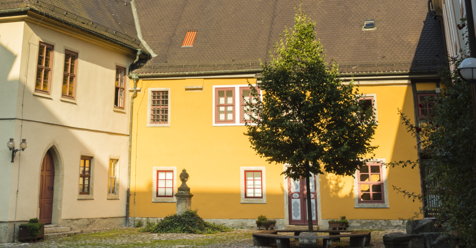 Collegium Jenense, Jena, Universität, Klosteranlage, singen