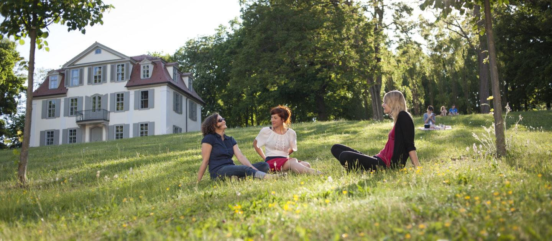 Griesbachsches Gartenhaus Jena, Griesbachgarten, Prinzessinnengarten, Park Jena