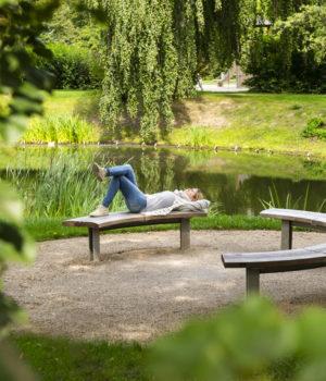 Paradiespark Jena, Paradies, Teich