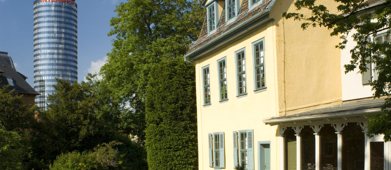 Jena Schillers Gartenhaus