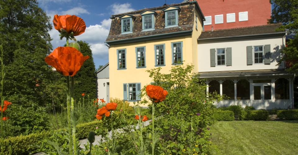 Schillers Gartenhaus Jena, Schillergarten, Rundtour Thüringer-Städtekette-Radweg, Friedrich Schiller
