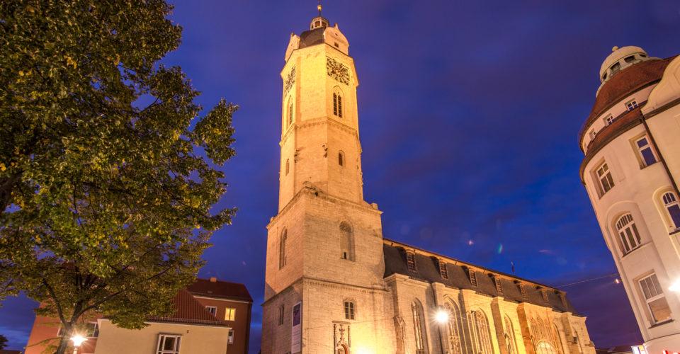 Stadtkirche St. Michael Jena, Kirche im Zentru, Turm, Turme