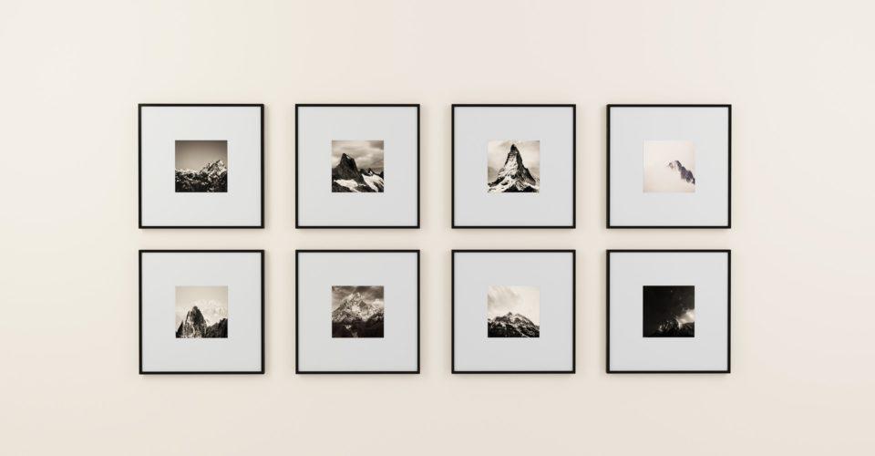 Galerie, Bilder, Bilderrahmen