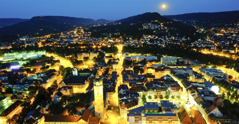 Jena, Blick vom JenTower