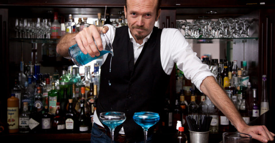 Danny Müller, Weintanne Jena, Cocktailmixer
