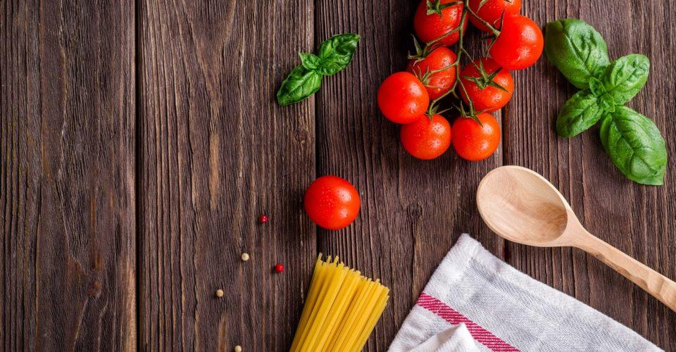 Essen, Nudeln, Tomaten