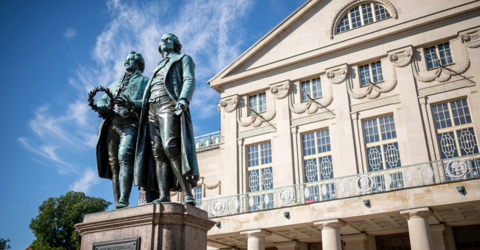Weimar_Goethe-Schiller-Denkmal_Thomas Müller