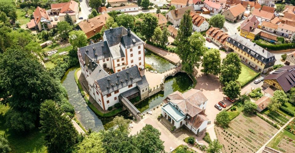 Großkochberg_SchlossKochberg_Luftbild_SchatzkammerThüringen_MarkusGlahn