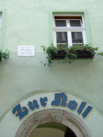 Jena Gasthaus Zur Noll, Außenansicht
