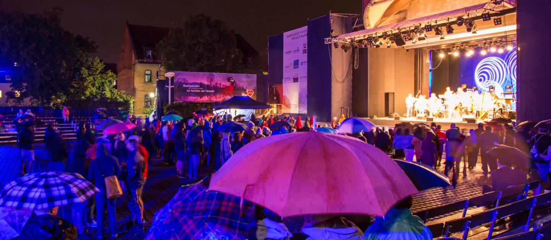 Jena bei regen, KulturArena