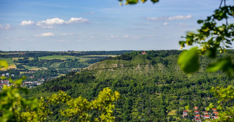 Jenzig Jena, Wandern in Jena, Aussichtspunkte