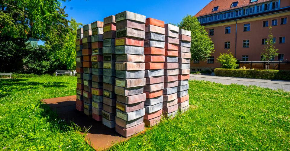 Jena, Denkmal der Verfolgten, Kunst, DDR