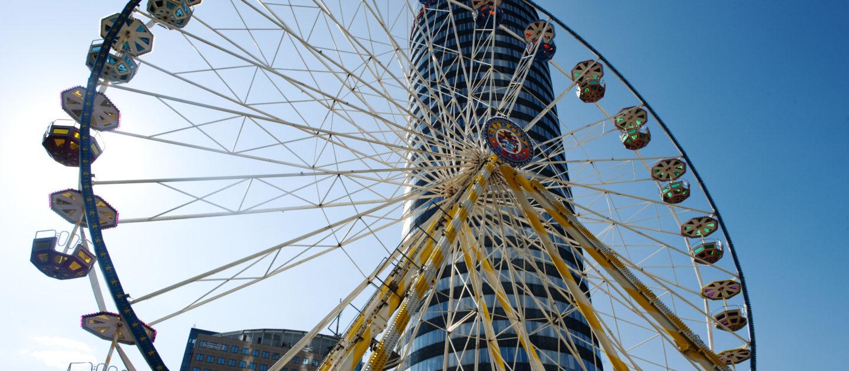 Fruehlingsmarkt, Riesenrad