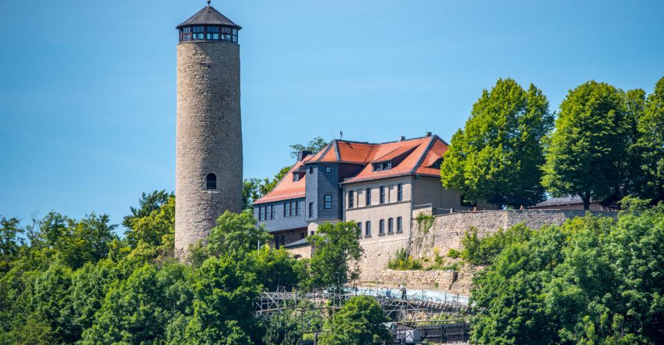 Jena Fuchsturm Restaurant Berg Essen