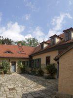 Goethe-Gedenkstätte, Innenhof, Goethe