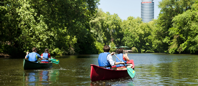 Wasserwandern, Schlauchboot Jena