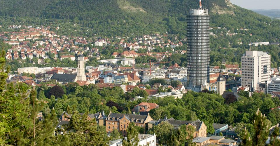 Wandern Jena, Landgrafen, Aussicht Jena