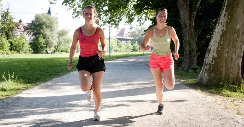 Jena, Paradies, Läuferinnen