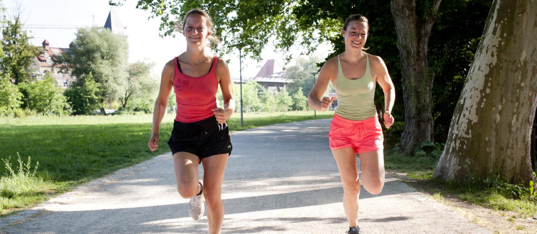 Laufsport, Laufwege im Paradies, Jena