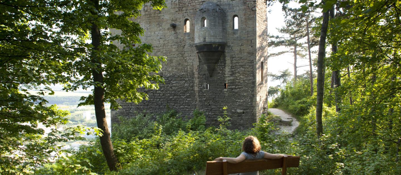 Jena Wandern, Lobdeburg, Saalehorizontale