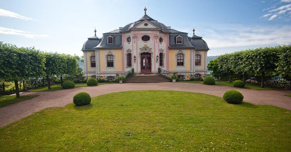 Radtour Schlösser-Tour Jena_Rokokoschloss Barockgarten