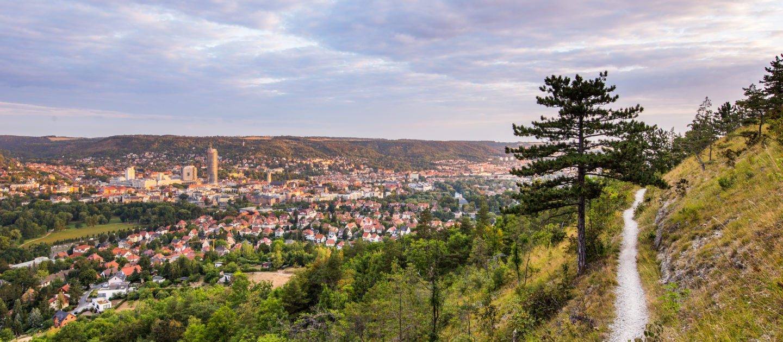 Kernberghorizontale, Saale Horizontale Jena, Wandern, Natur Jena