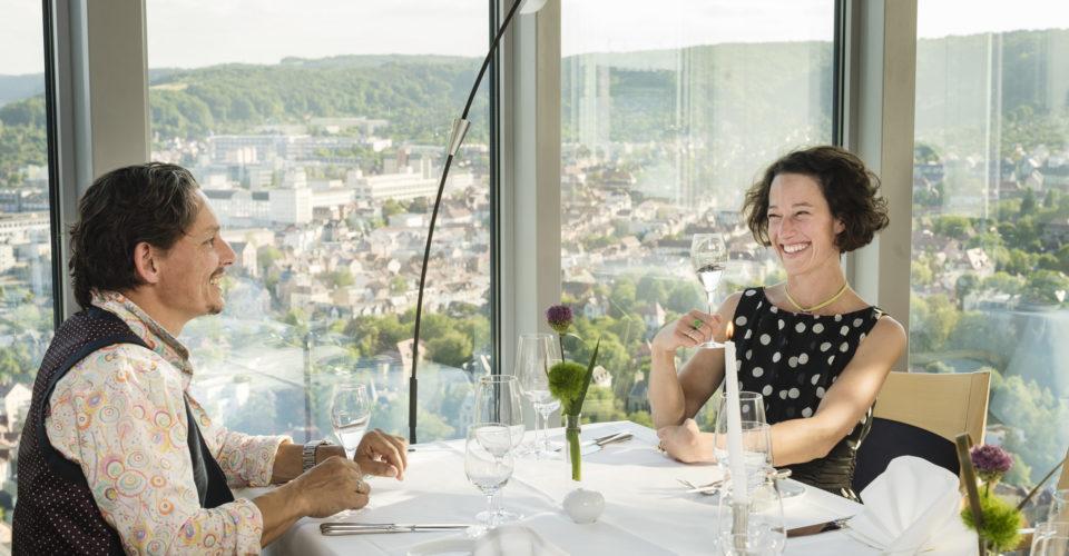 SCALA – Das Turm Restaurant, Restaurants Jena