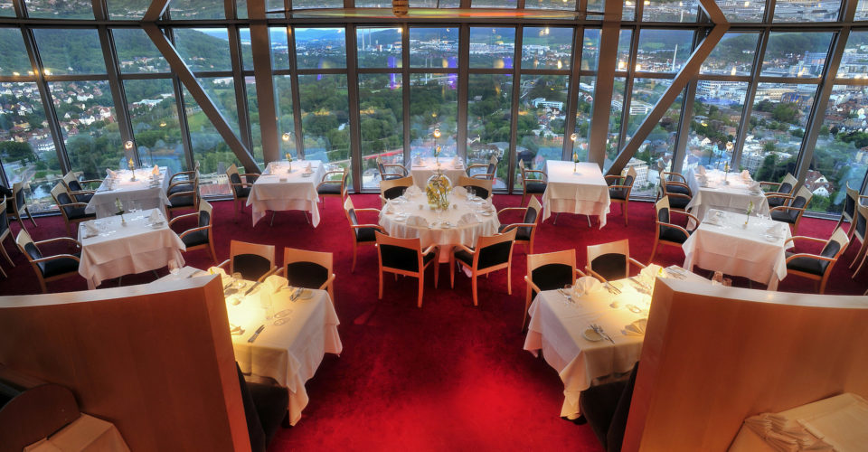 Jena, Scala Turm Hotel Restaurant Jena