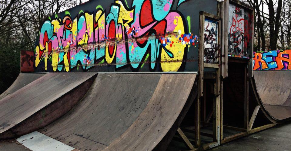 Skatepark, Paradiespark Jena