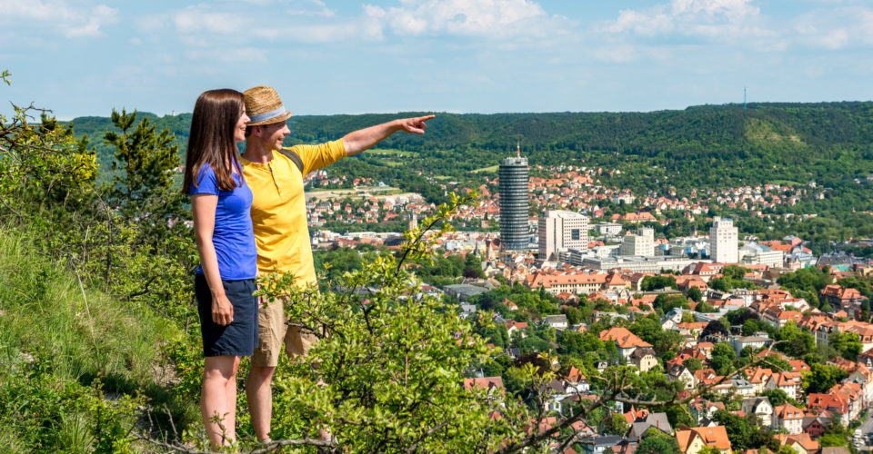 SaaleHorizontale Jena, Wandern, Aussicht