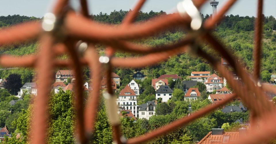 Friedensberg Jena, Spielfläche, Spielplatz