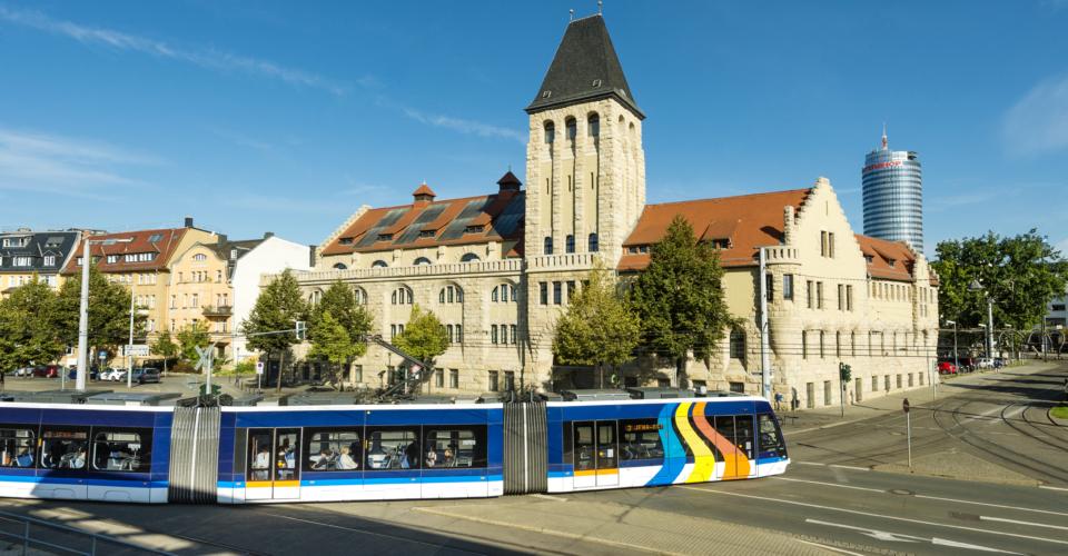 Tram in Jena, Volksbad jena