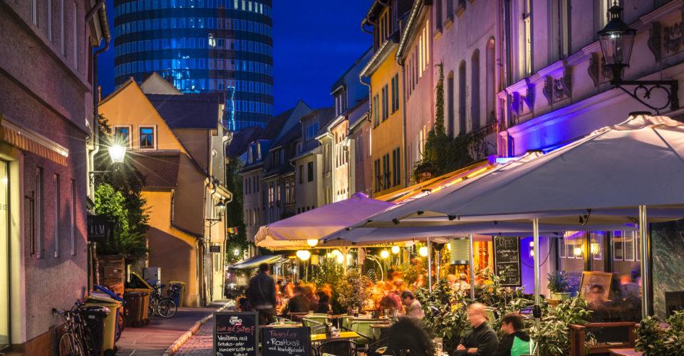 Jena Wagnergasse, Nachtleben, Bars und Kneipen in Jena