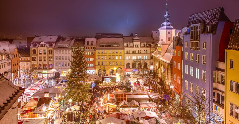 Jenaer Weihnachtsmarkt, Weihnachtsmarkt, Jena