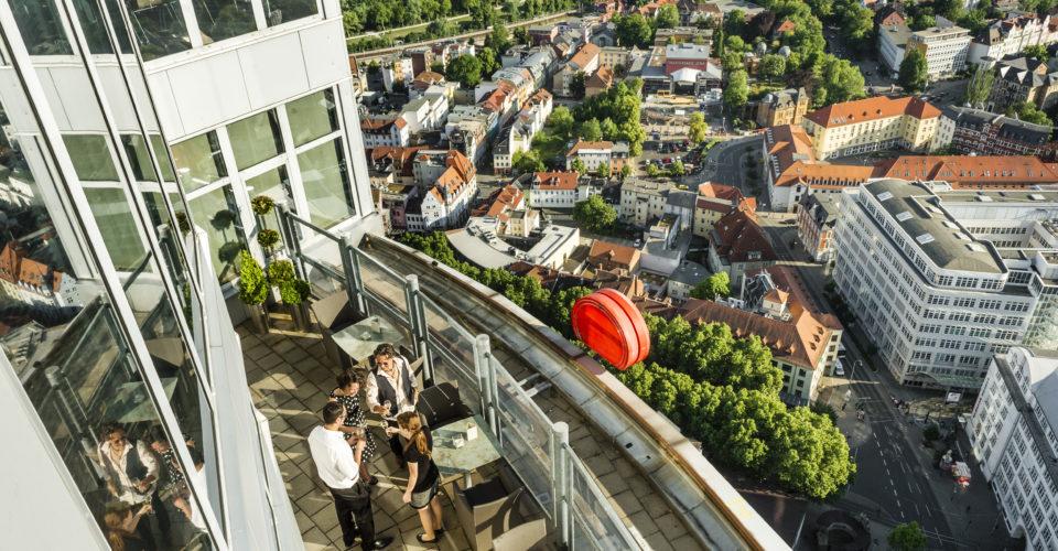 Jena, JenTower, Aussichtsplattform
