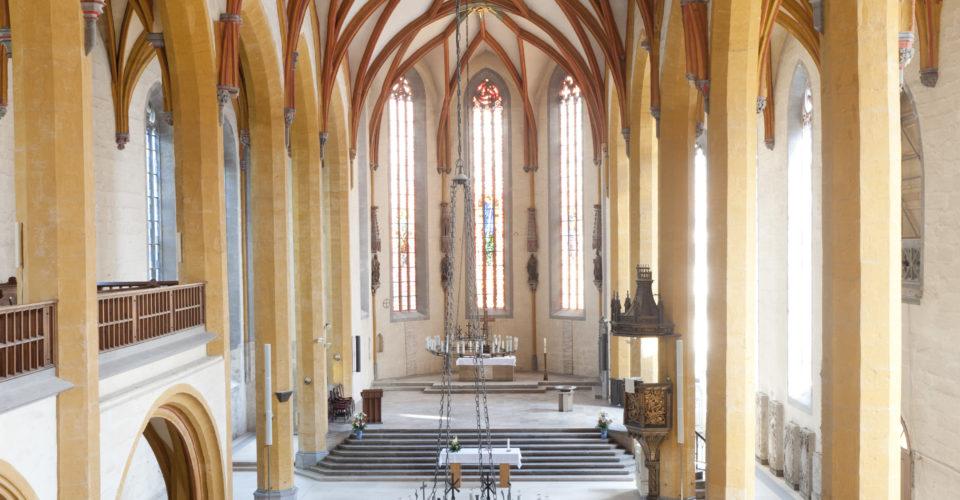Stadtkirche Jena, Reformation