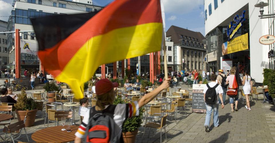 Fahne Holzmarkt Jena