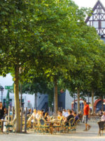 Marktplatz Jena mit Stadtmuseum
