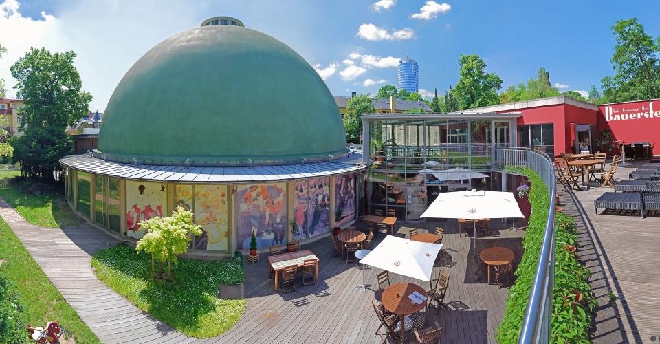 Zeiss Planetarium Jena, Bauersfeld, Terrasse